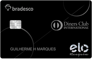 Cartão Bradesco Elo Nanquim Diners Club