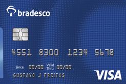 Cartão Bradesco Visa Internacional