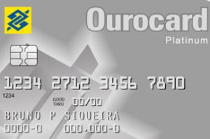 Cartão de Crédito Ouro Platinum Banco do Brasil