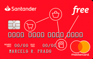Santander Free Cartão de Crédito sem Anuidade