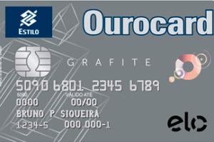 Cartão de Crédito Ouro Card Grafite