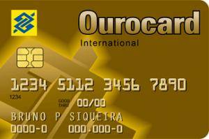 Cartão de Crédito Ourocard Internacional