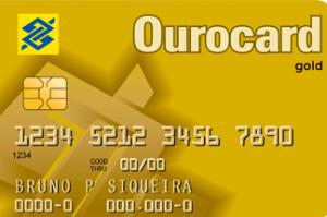 Cartão Ourocard Gold
