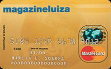 Cartão Magazine Luiza Ouro