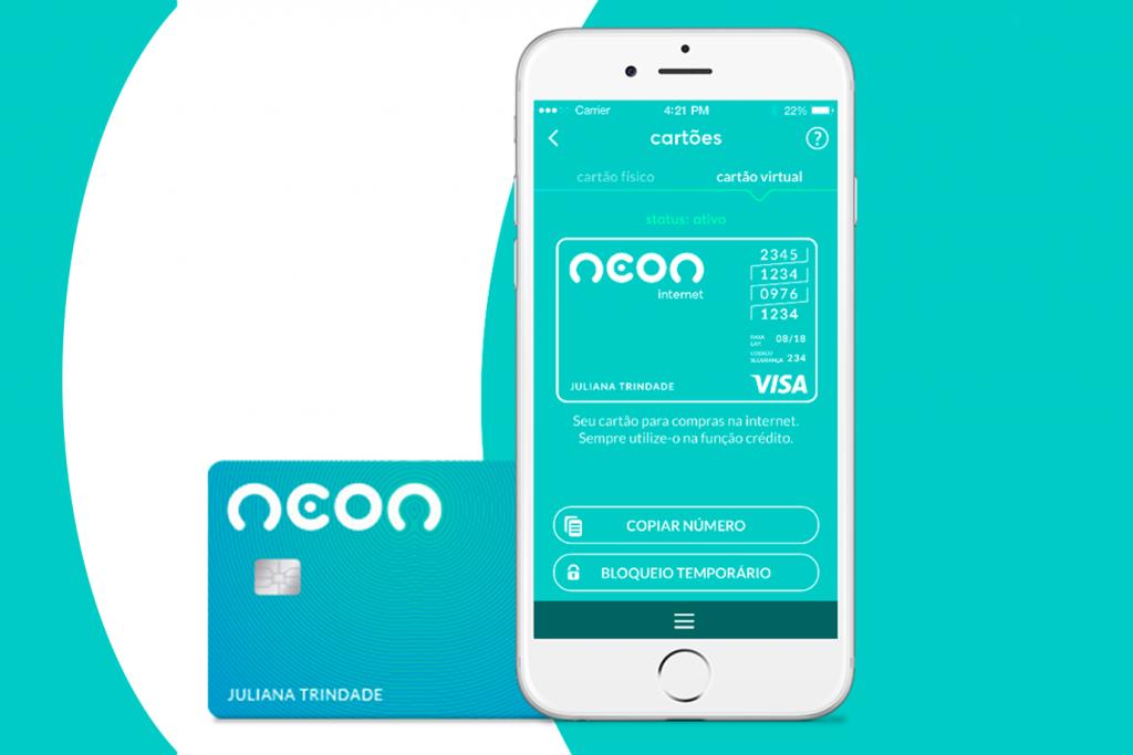 Aplicativo Cartão Neon