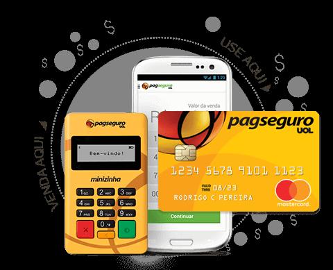 Cartão de crédito da PagSeguro