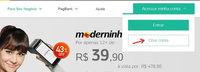 Moderninha - Como solicitar