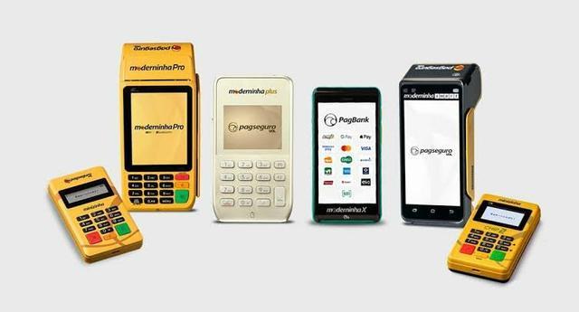 Tipos de máquinas de cartão da PagSeguro